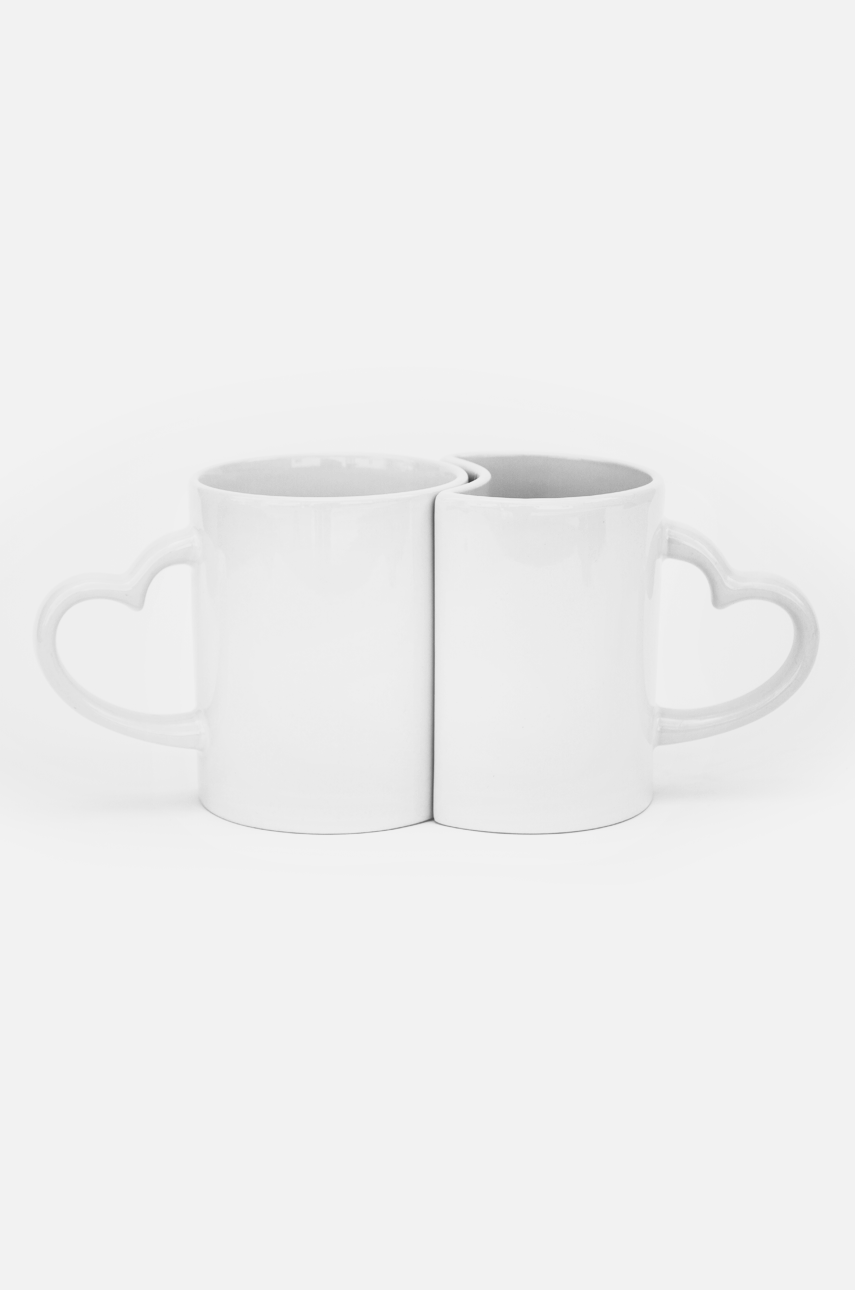"Pair of mugs ""Yin and Yang"""